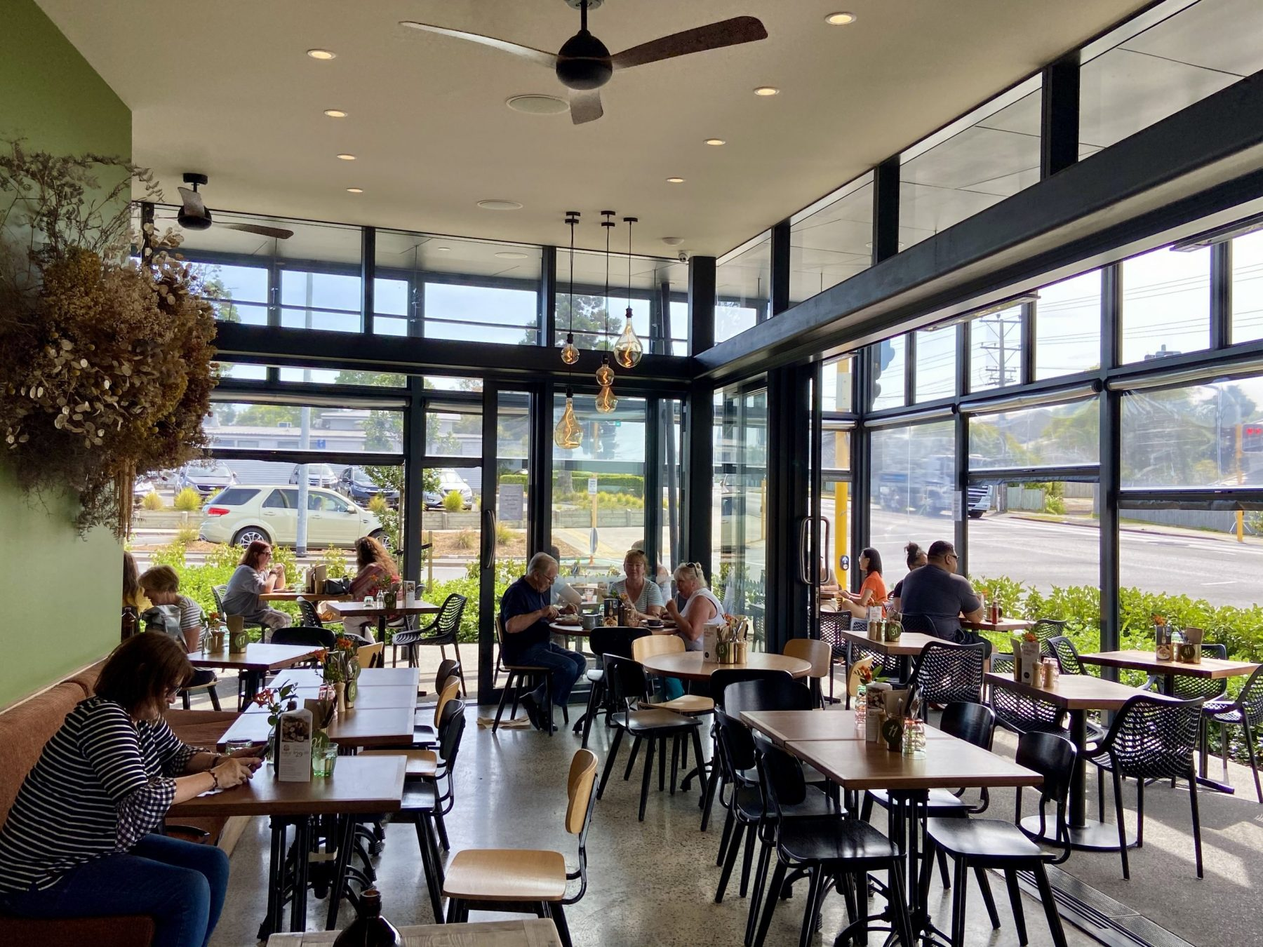 Midpoint Cafe in Hobsonville Seating Area