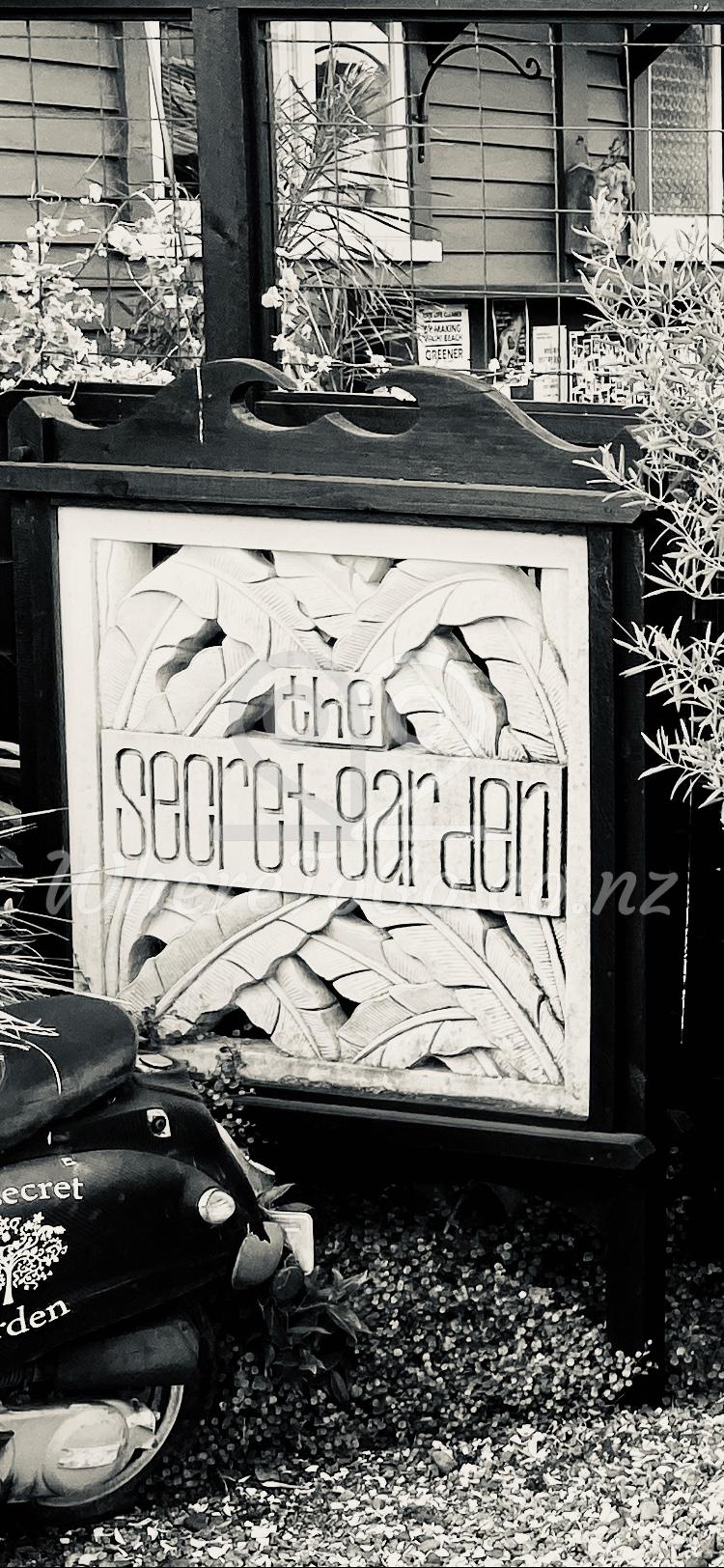 The Secret Garden Coffee Cafe Waihi