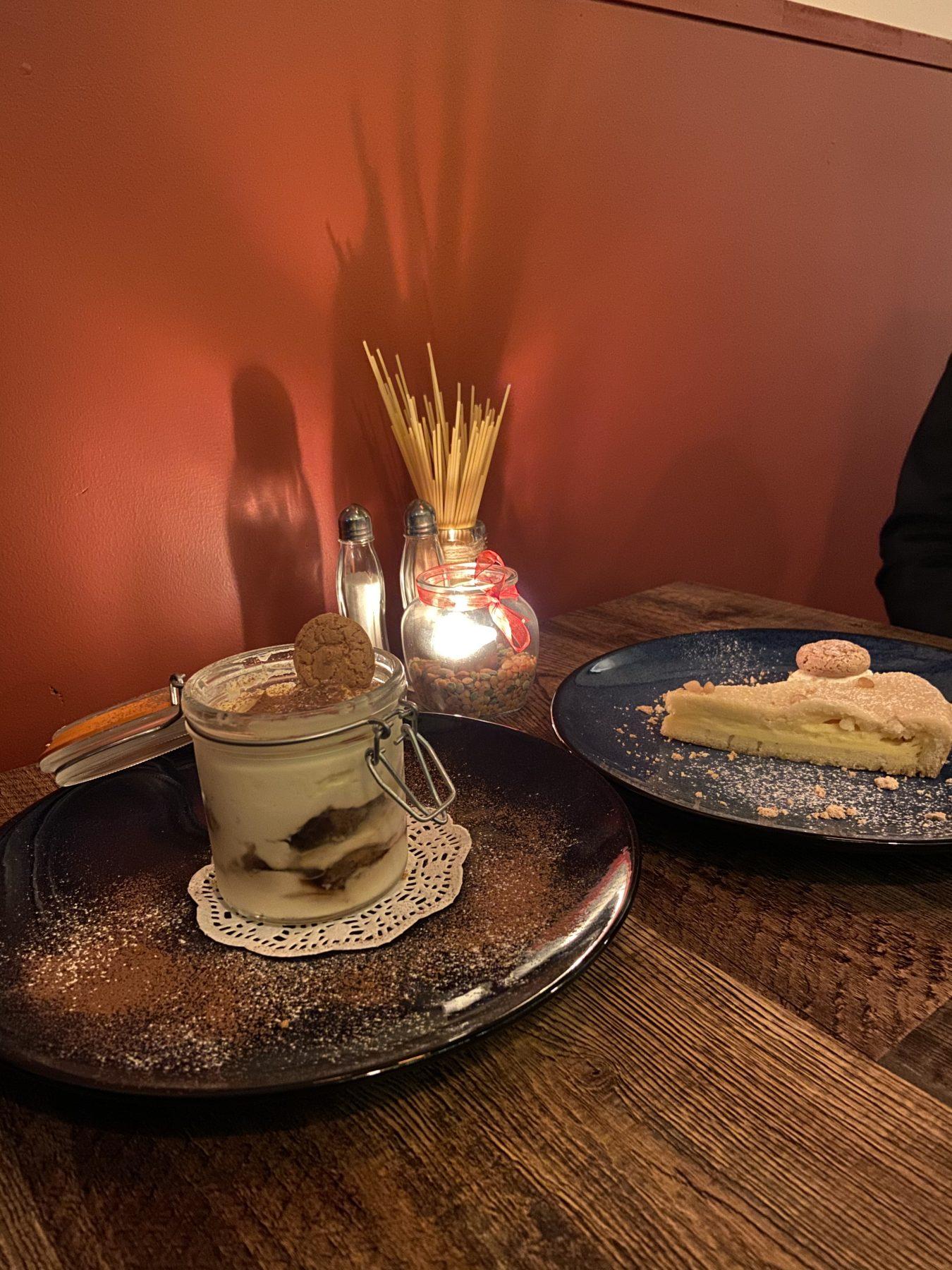 Puglia Restaurant Kingsland Dessert & Candlelit Lighting