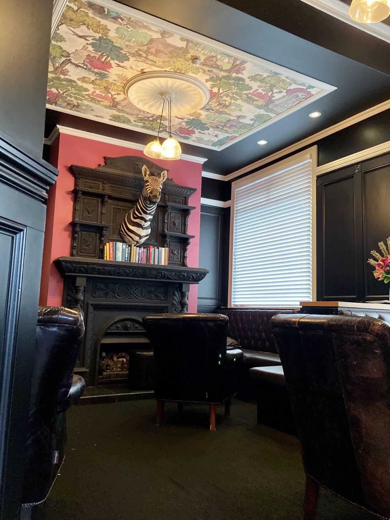 The Cav Gastro Pub Ponsonby Auckland Zebra Lounge