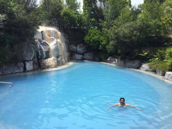 Wairakei Terraces Thermal Hot Pools Waterfall - (Taupo) - Where To Go