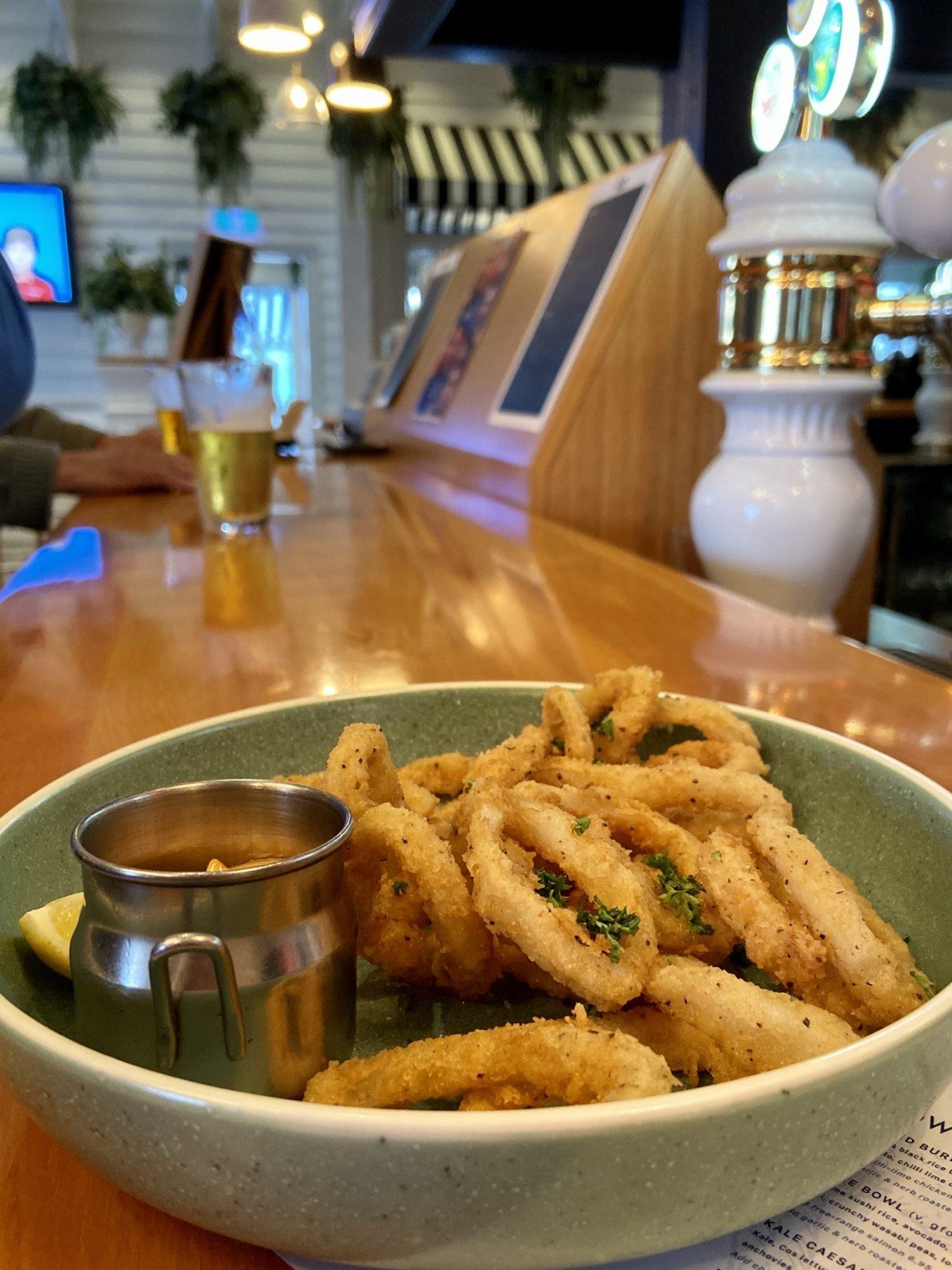 The Cav Gastro Pub Ponsonby Auckland Calamari Squid