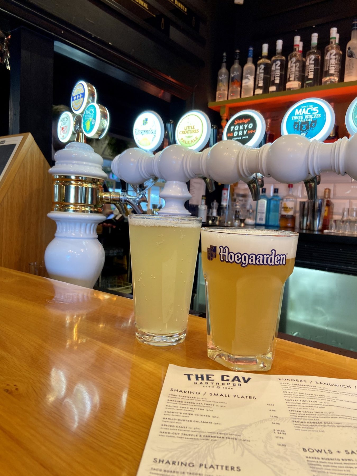 The Cav Gastro Pub Ponsonby Auckland Tap Beers