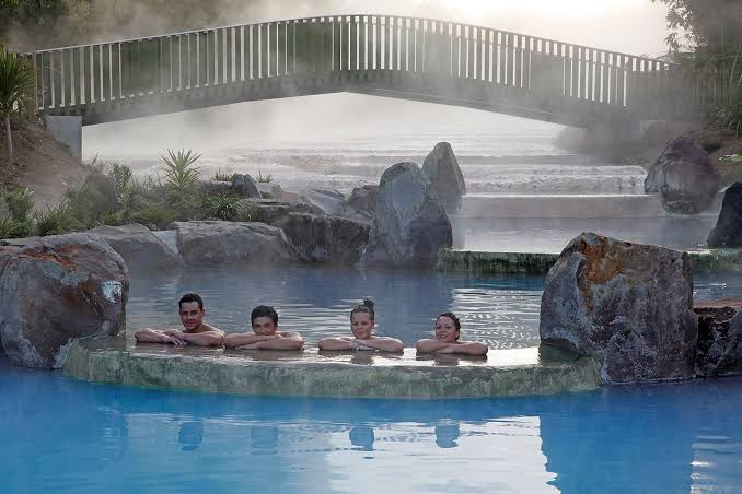 Wairakei Terraces Thermal Hot Pools Bridge - (Taupo) - Where To Go