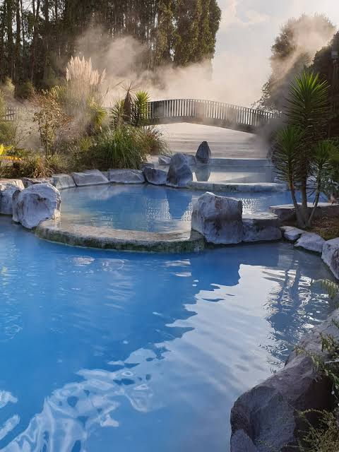 Wairakei Terraces Thermal Hot Pools Bridge Steam - (Taupo) - Where To Go
