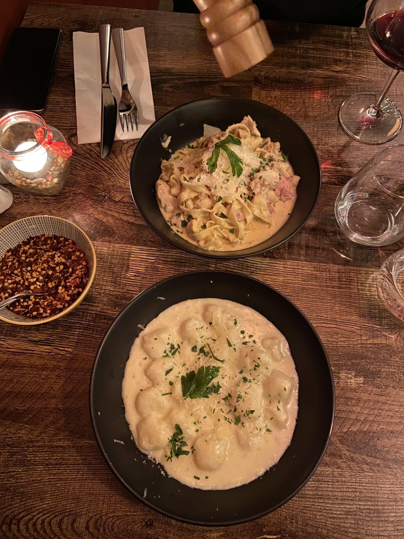 Puglia Restaurant Kingsland Italian Food Pasta Gnocci Main Menu