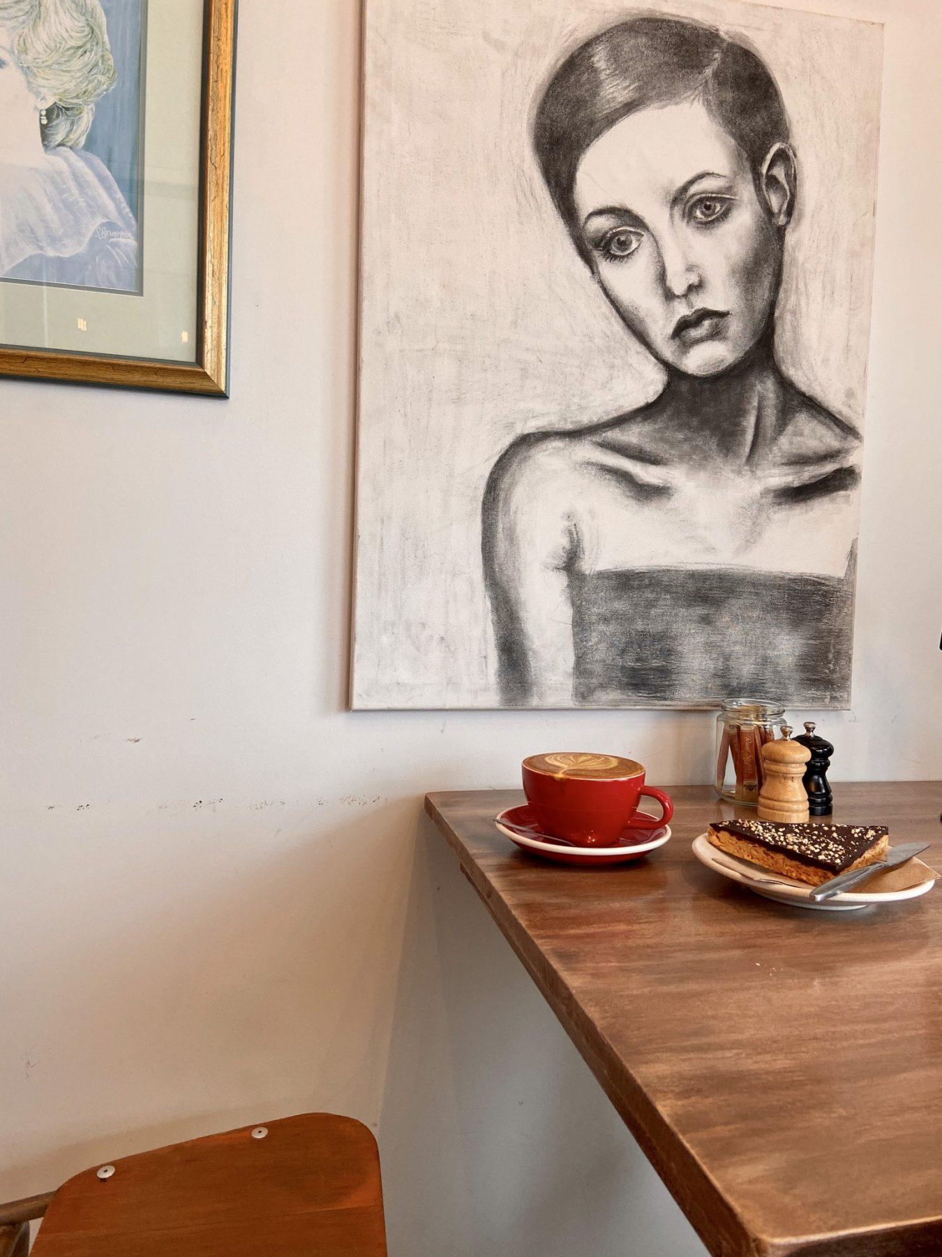 Belle Cafe Artwork Christchurch