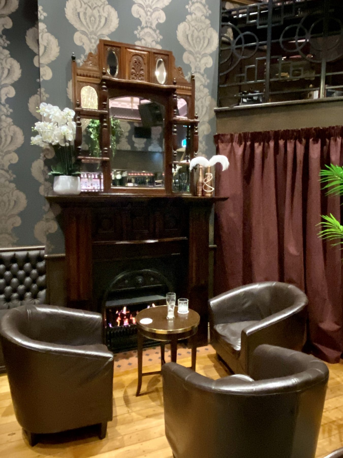 Ivory Bar Rangiora Fireplace Comfy Seating