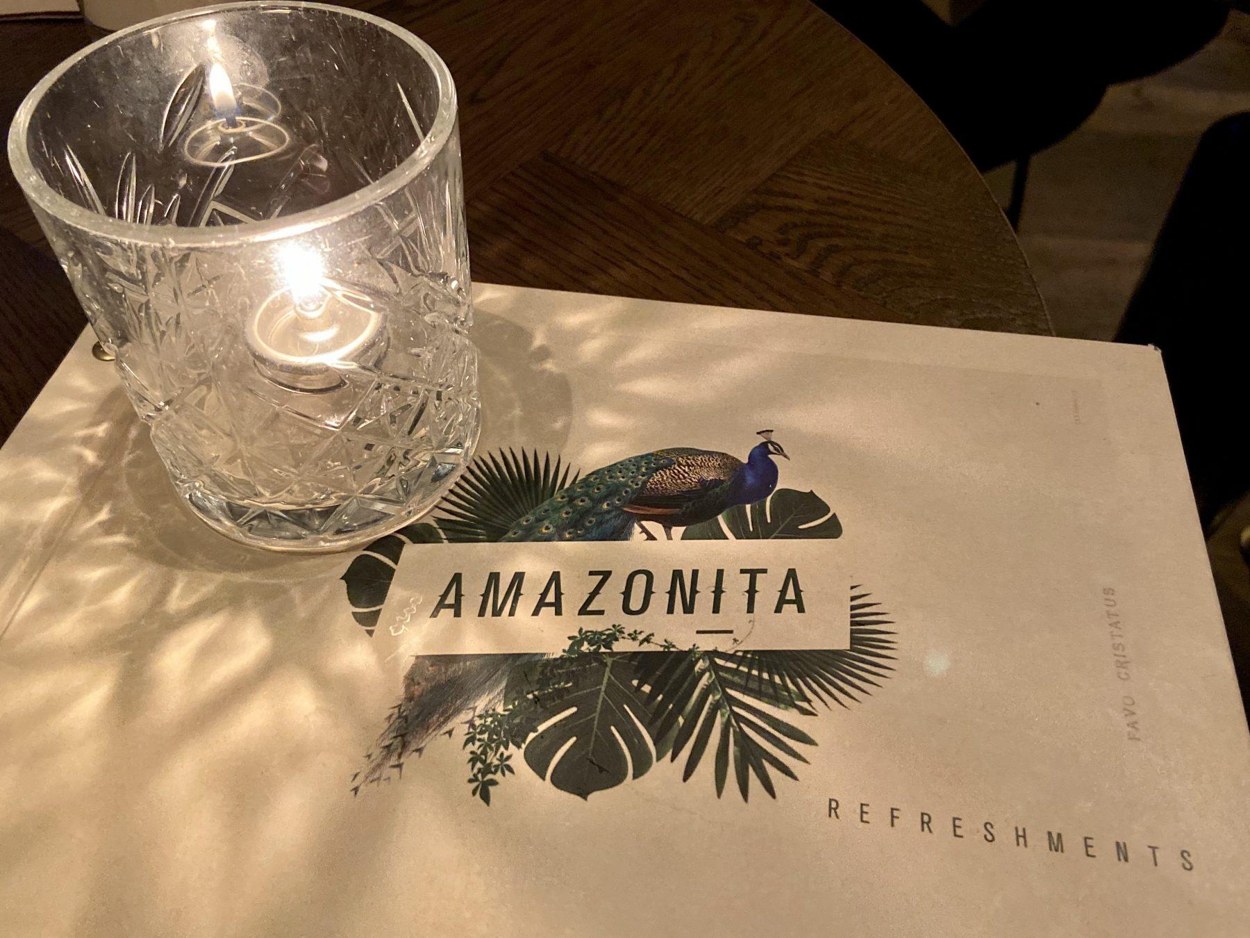 Amazonita Restaurant Wine Menu Christchurch