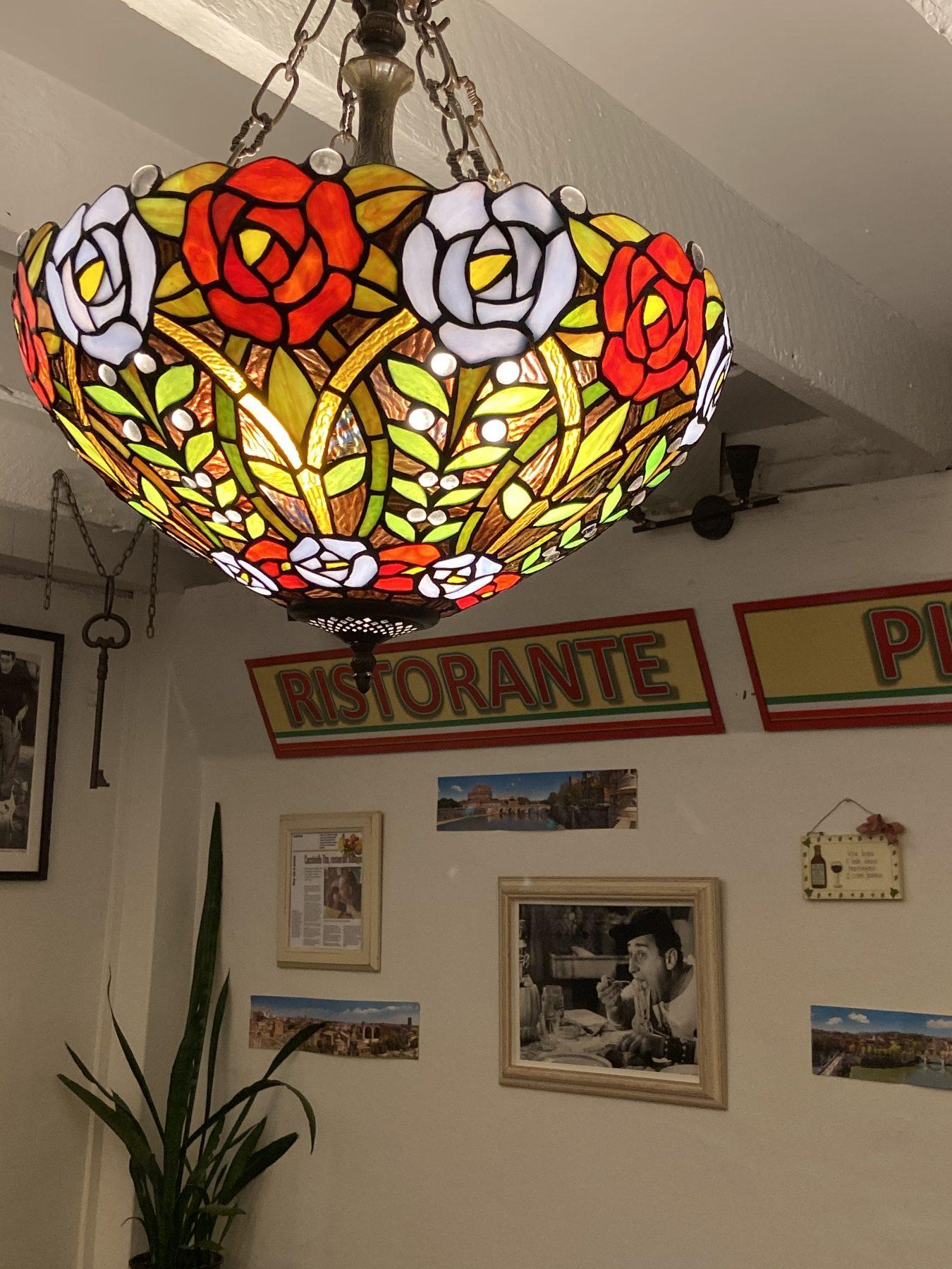 Lamp Shade at Pane E Vino Italian Restaurant Ponsonby