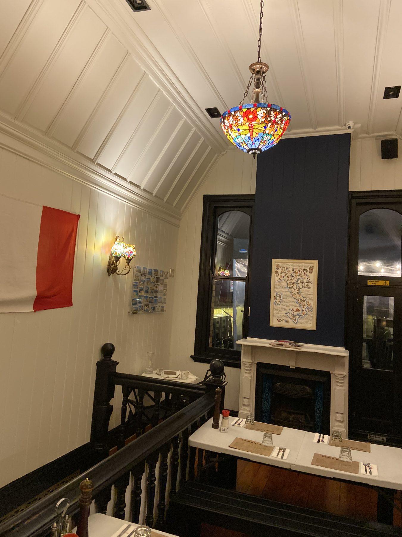 Upstairs at Pane E Vino Italian Restaurant Ponsonby