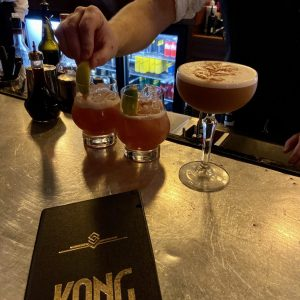 Kong Bar Christchurch Cocktails