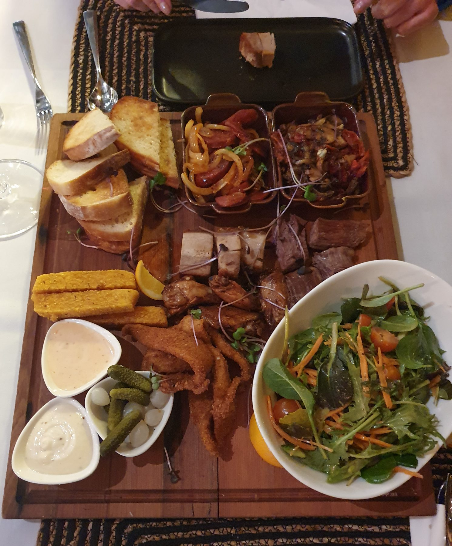 The Vine eatery and bar Taupo Sharing Platter