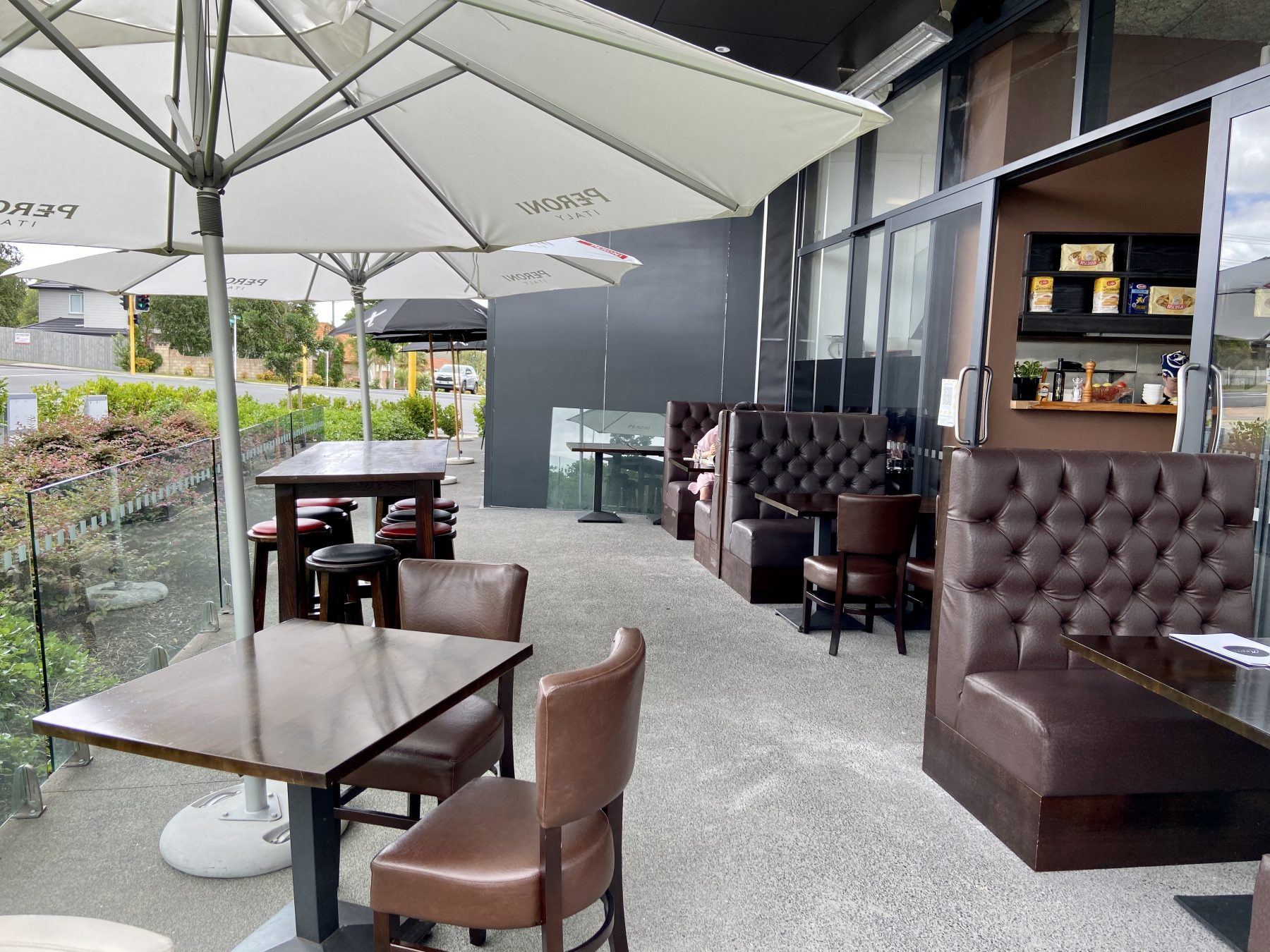 Outdoor Area at Amore Italian Restaurant Hobsonville