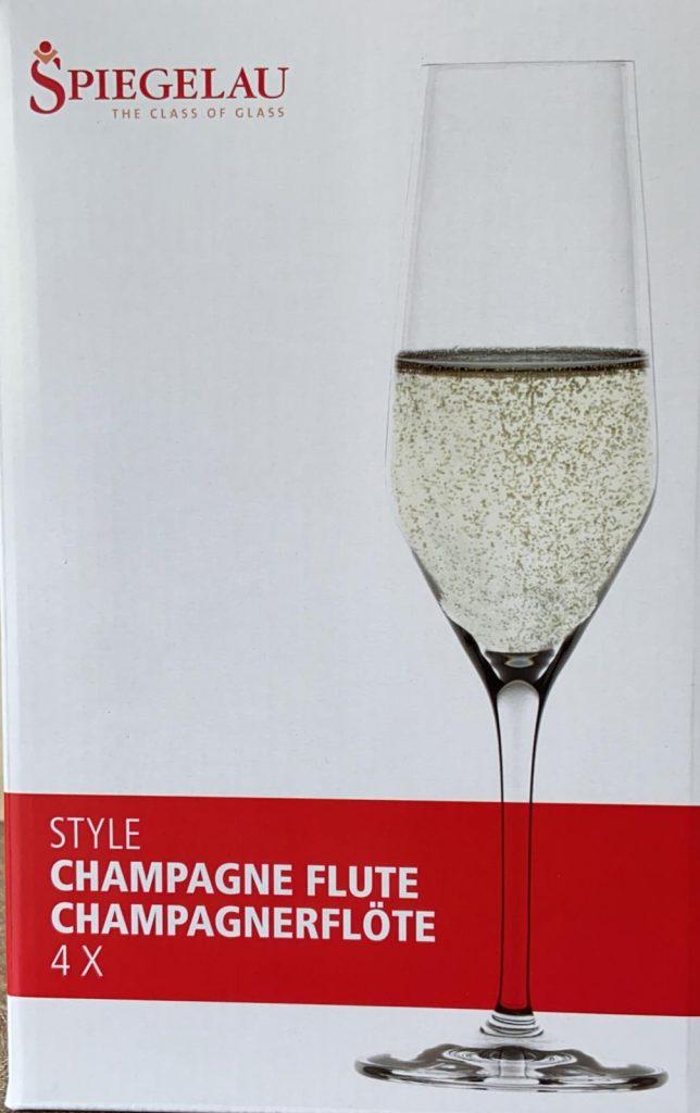 Spiegelau Champagne Flute Wine Glasses Competition