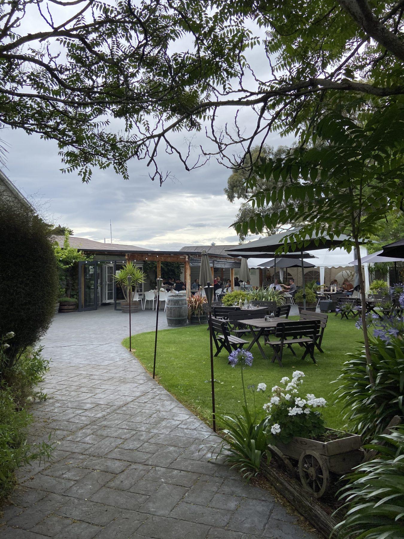 Waipara Springs Winery Outdoor Area