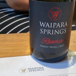 Waipara Springs Winery Reserve Pinot Noir