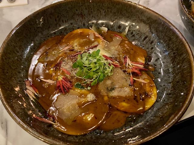 Locatelli menu beef raviolli
