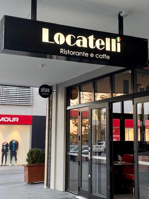 Locatelli sign westgate outside